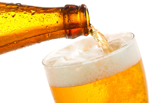 시원한 맥주… 마시지 말고 피부에 양보하라고?