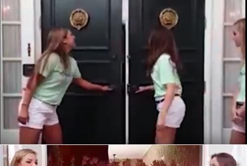 공포 영화 방불, 여학생 클럽의 홍보 영상
