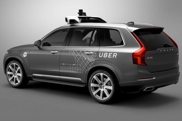 우버가 자율주행 서비스에 사용할 볼보 XC90 차량 - 우버 제공