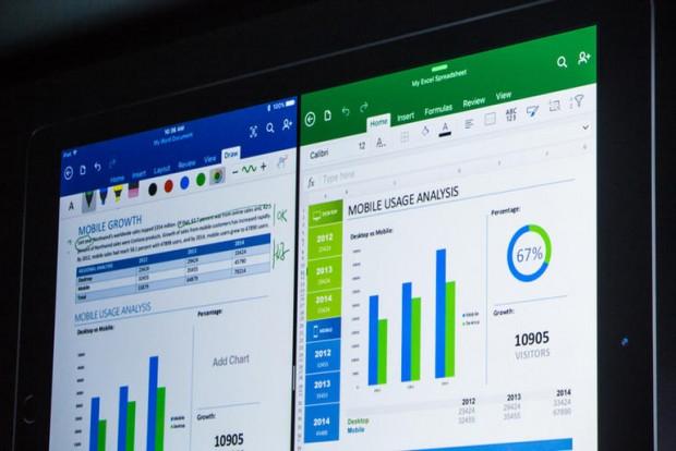 마이크로소프트는 아이패드용 오피스 앱을 제공하는 등 주요 컴퓨팅 환경을 모두 지원하려 하고 있습니다.  - ZD넷 제공