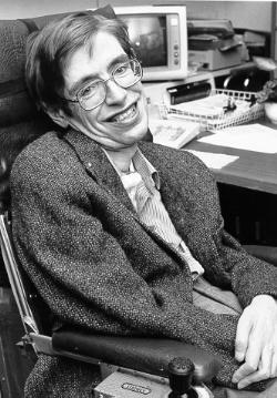 생존한 과학자 가운데 가장 유명인사인 스티븐 호킹. 1980년대 모습이다. - NASA 제공