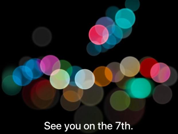 9월 7일 애플 미디어 행사 개최를 알리는 초대장 - 애플 제공