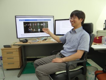 최 부단장은 박사연구원 시절 단층위상현미경 개발로 이코노미스트에 소개되며 주목을 받았다. - IBS 제공