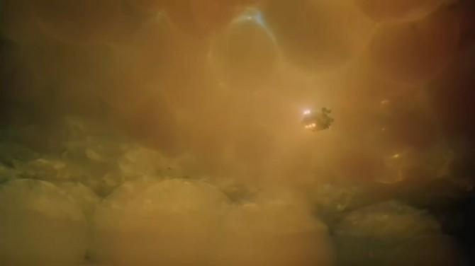 이너 스페이스는 로봇의 몸 속 여행을 매우 사실적으로 표현해 호평을 받았다 - Innerspace 제공