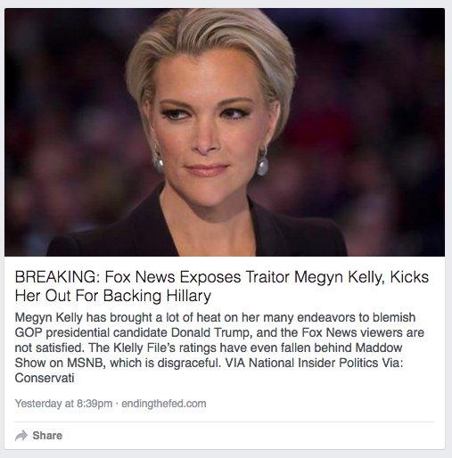 페이스북 알고리즘이 트렌딩토픽에 보수 성향 여성 언론인에 대한 오보를 올려 논란이 되었다. - Michael Roston 트위터 제공