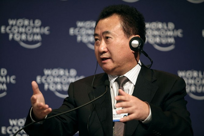 완다그룹의 왕젠린 회장 - World Economic Forum (W) 제공