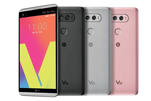 최고의 사진과 오디오에 올인...LG전자 V20 발표
