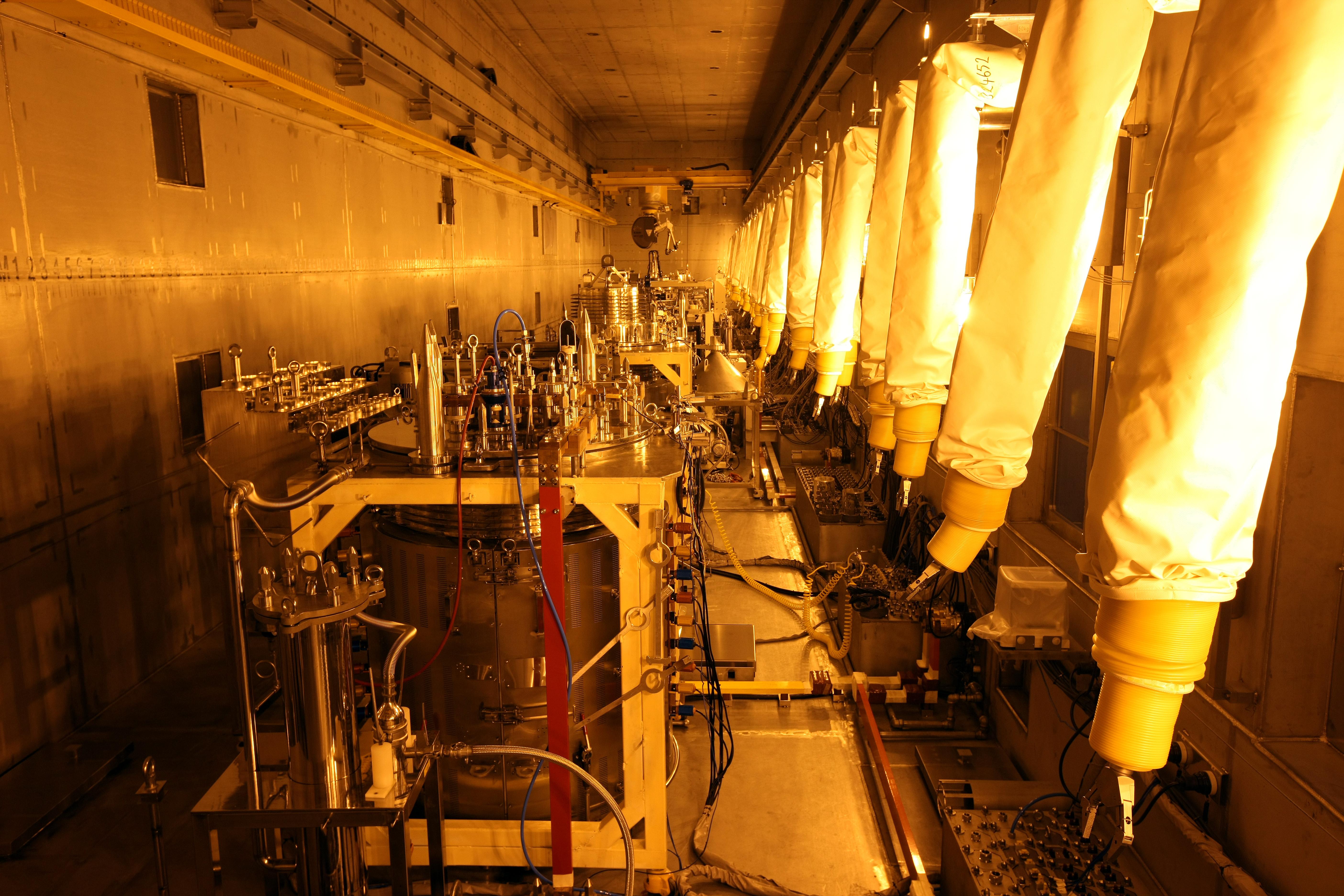 모의 핵연료를 이용해 파이로프로세싱 공정을 실험해 볼 수 있는 프라이드(PRIDE) 시설