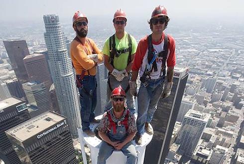 LA 최고층 '335m 압도적인 셀카'