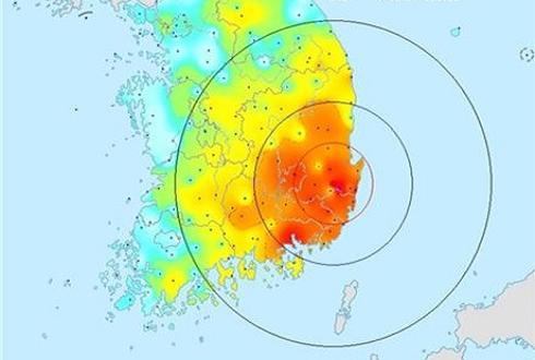 한반도 역사상 가장 강한 지진 덮쳤다