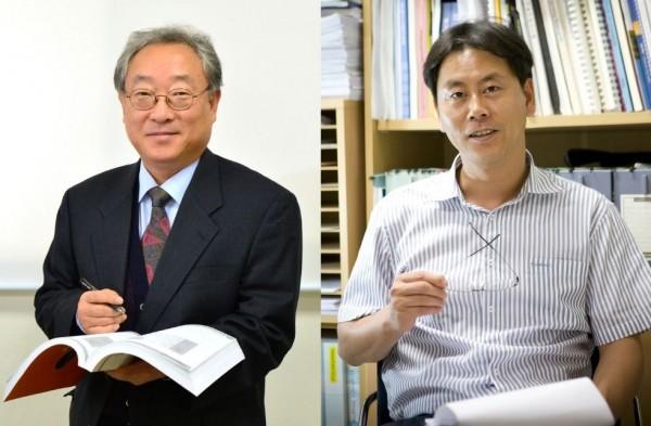 세계 상위 1% 연구자에 3년 연속 이름을 올린 권익찬 KIST 박사(왼쪽)와 김광명 박사(오른쪽). - 한국과학기술연구원(KIST) 제공