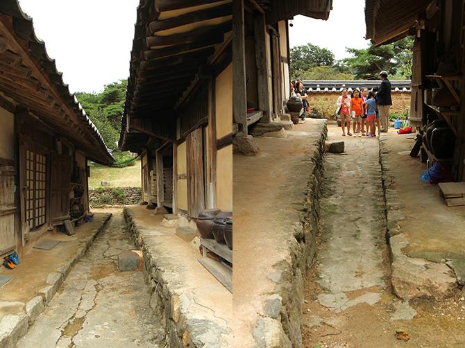 남쪽에서 본 길(왼쪽)과 북쪽에서 본 길(오른쪽). - 김은영 기자 gomu51@donga.com 제공