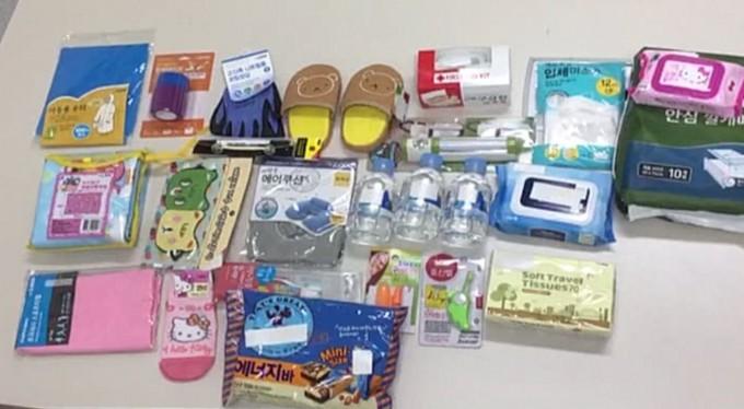5만 원 예산으로 국내 마트에서 지진 가방 구성품을 직접 구매해 보았습니다. - 염지현 제공