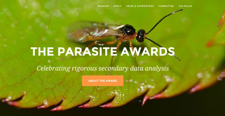 기생충상 홈페이지