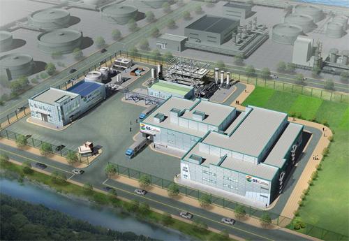 지난 9월 29일 GS칼텍스는 여수에 세계 최초로 2세대 바이오매스를 쓰는 바이오부탄올 시범공장을 착공했다. 내년 말 완공될 예정인 이 공장의 생산성에 따라 상용화 여부가 결정된다. - GS칼텍스 제공