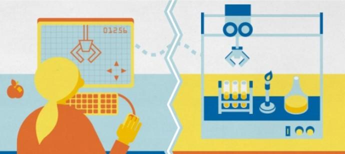 온라인 강의에서 실험수업의 부족함을 채우기 위해 각 대학은 다양한 시도를 진행하고 있다. - 네이처 제공