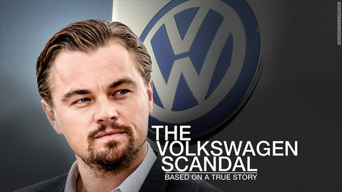 레오나르도 디카프리오가 운영하는 제작사는 현재 폭스바겐 배기가스 스캔들의 영화화를 준비중인 것으로 알려졌다 - CNNMoney 제공