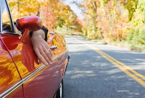 가을 단풍여행, 차 사고 나지 않으려면?