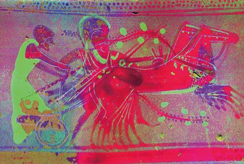 X선으로 밝힌 그리스의 도자기 예술