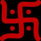 Unknown (2006), 스와스티카, 평화를 상징하는 인도의 고대 문양. - 위키미디어 제공
