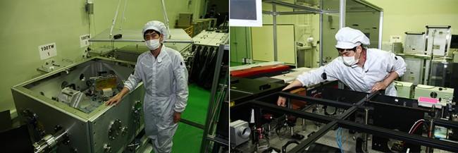 4PW 레이저뿐 아니라 그 이상의 레이저를 개발하기 위한 시뮬레이션을 계속 연구하고 있는 유제윤 연구위원 - IBS 제공