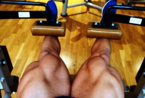 터질 것 같은 다리 근육, 스위스 보디빌더