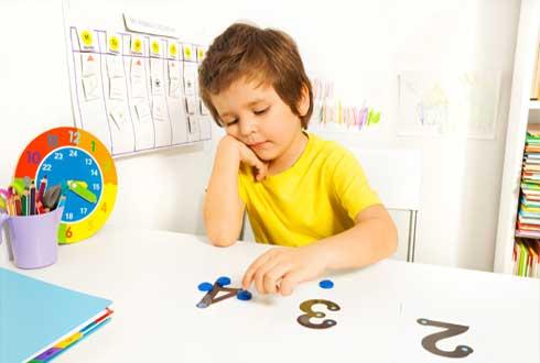 유아 시절 숫자놀이, 수학 실력 향상? '글쎄~'