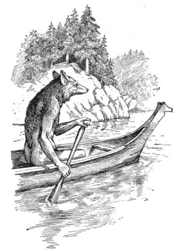 아메리칸 인디언 신화에 등장하는 트릭스터, 코요테 (Coyote), 기발한 잔꾀를 부려 욕심을 채우려고 하지만, 거의 항상 자신과 주변 사람을 곤경에 빠트리고 만다. - F.N. Wilson (1915) 제공