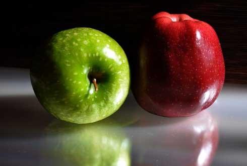 빨간 사과가 더 맛있어 보이는 이유 찾았다