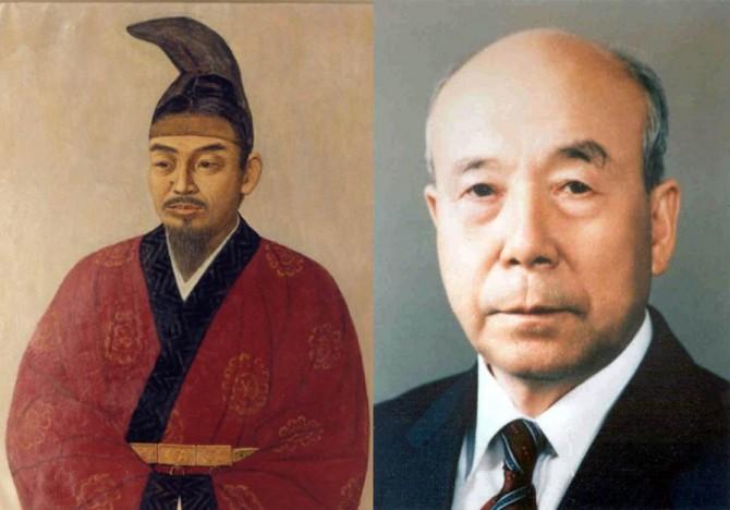 통일신라시대 사람인 김대성(왼쪽)과 염영하 전 서울대 명예교수(오른쪽)는 2016년 '과학기술인 명예의 전당'에 올랐다. - 동아DB 제공