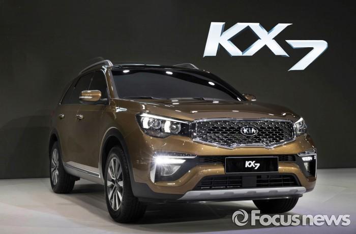 2016 광저우 모터쇼에 전시된 신차 KX7 - 포커스뉴스 제공