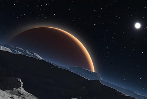 '화성의 달' 속 거대 크레이터는 어떻게 생겨났을까