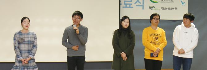 올 한 해 어벤저스로 활동한 연구원들의 모습. - 김은영 기자 gomu51@donga.com 제공