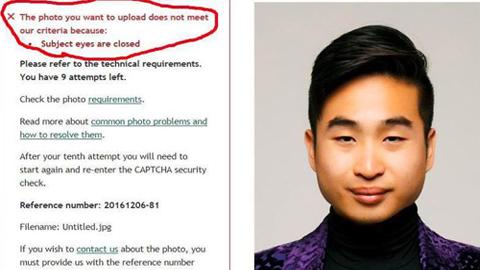 """""""눈을 떠요"""" 아시아인을 인종 차별한 인공지능"""
