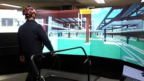 걷고 만지면서… VR로 화학물질 사고 가상 훈련