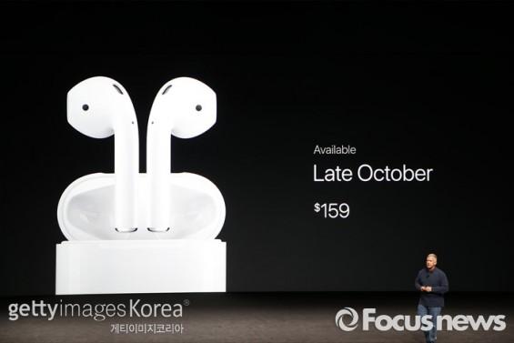 애플 무선이어폰 '에어팟' 온라인 판매 개시…21만9000원