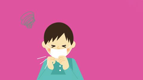 독감 3일차, 큰 아이가 기침을 하기 시작합니다. - (주)동아사이언스(이미지 소스:GIB) 제공