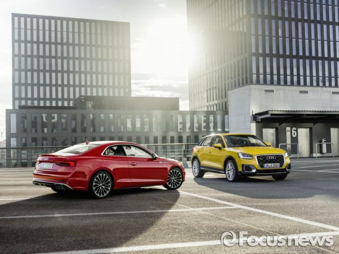 아우디 A5와 Q2 모델(왼쪽부터). - 아우디 코리아 제공