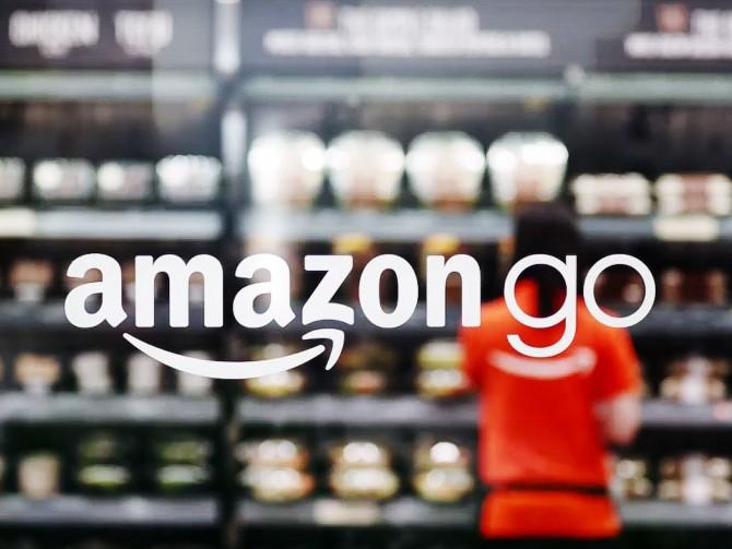 아마존이 선보인 새로운 소매 유통 사업인 아마존고 - 아마존고 제공