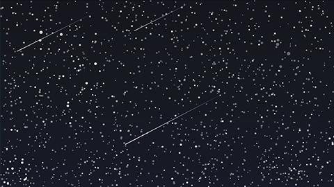 """별이 비처럼...""""새해 1월 밤 유성우 떨어진다"""""""