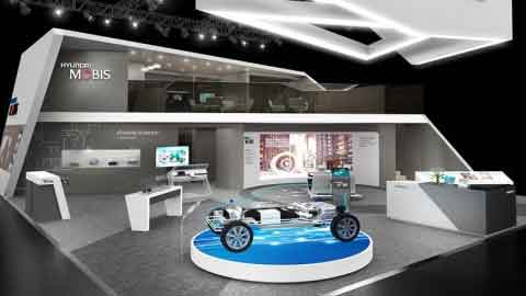 [CES 2017] 현대모비스, 자율주행·ICT 등 미래車 기술 대거 선봬