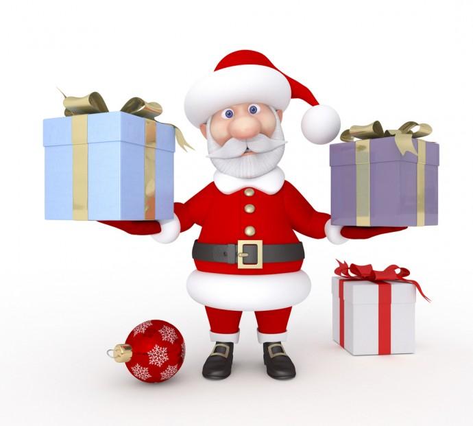 보통 산타할아버지는 선물을 포장해서 주니까 ㅜ_ㅜ. 선물 포장은 엄마 몫. - GIB 제공