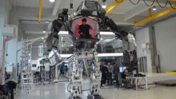 키 4m, 무게 1.6t… 탑승형 '거대로봇' 세계 첫 개발