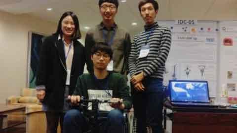 '일반휠체어→전동휠체어 손쉽게'… KAIST 학부생, 국제대회 우승!