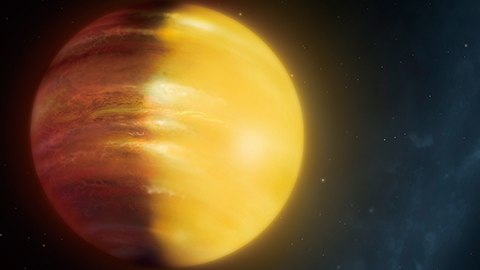 루비와 사파이어 바람이 부는 행성 발견