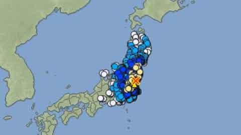 일본 이바라키현서 규모 6.3 강진…
