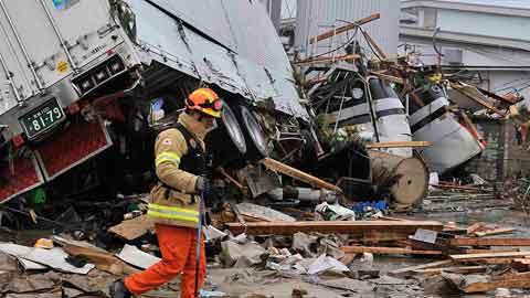 일본, 올해 지진 작년比 3.5배 증가…