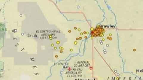 美캘리포니아, 새해 첫날 지진 250여차례 발생…거대 지진 예고?
