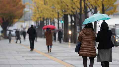 [7일 날씨] 낮 최고 12도 '포근'…제주도 비 소식