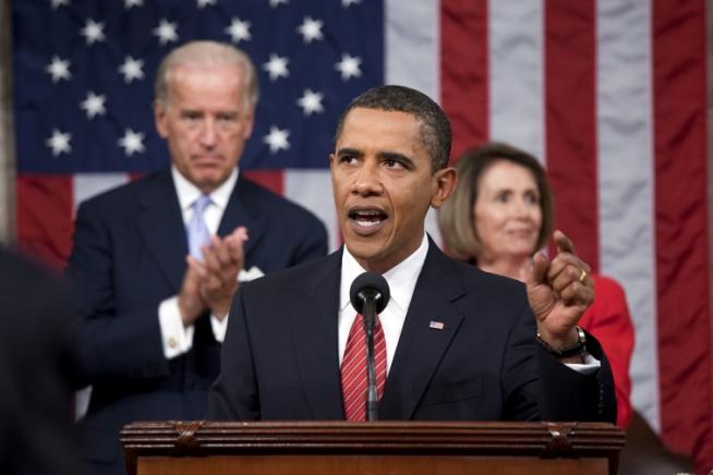 버락 오바마 미 대통령이 2009년 9월 오바마 케어로  - 미 백악관   제공